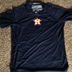 Nike MLB Shirts - Nike Pro Houston Astros shirt